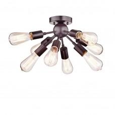 Firenze Oil-Rubbed Bronze Sputnik Chandelier with 8 Socket